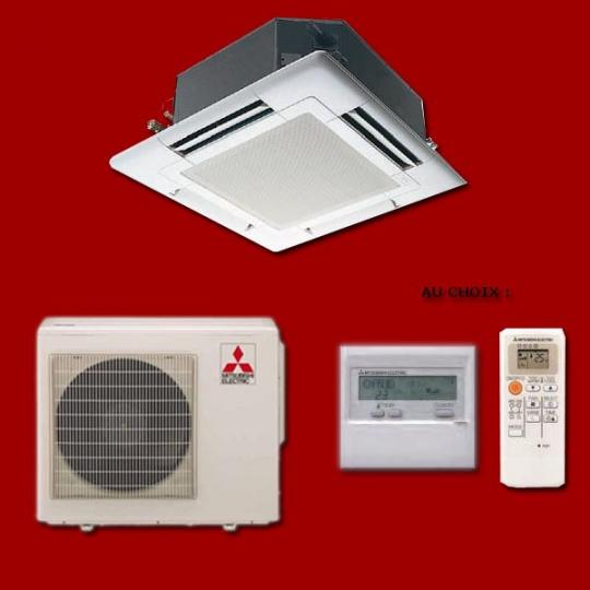Climatiseur Cassette Inverter SLZ-KA50VAQ / SUZ-KA50VA2 MITSUBISHI ELECTRIC
