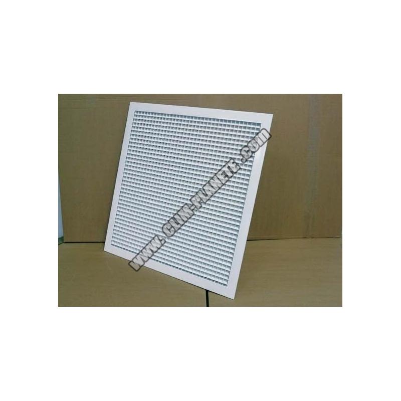 grille plenum de reprise gainable accessoire climatisation gainable. Black Bedroom Furniture Sets. Home Design Ideas