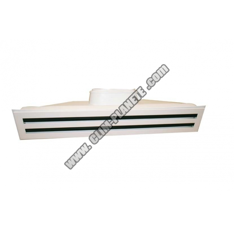 grille multi fentes plenum soufflage accessoire. Black Bedroom Furniture Sets. Home Design Ideas