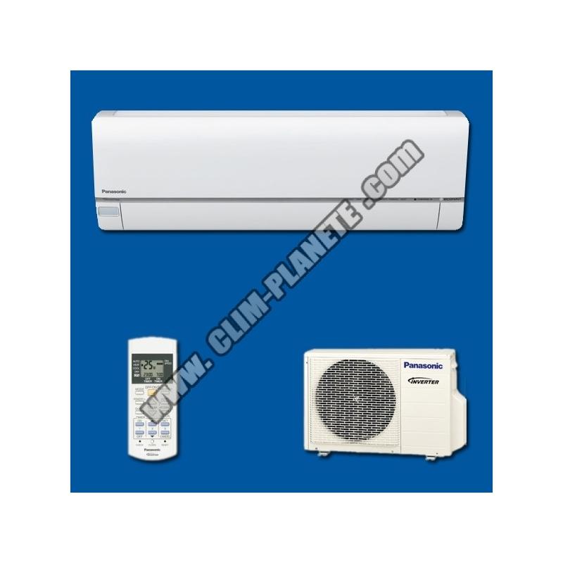 climatiseur r versible inverter kit cs e12qkew etherea blanc panasonic. Black Bedroom Furniture Sets. Home Design Ideas