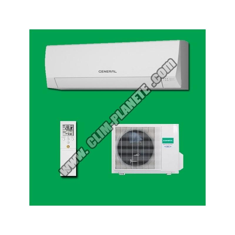 climatiseur r versible inverter asg12lm general fujitsu. Black Bedroom Furniture Sets. Home Design Ideas