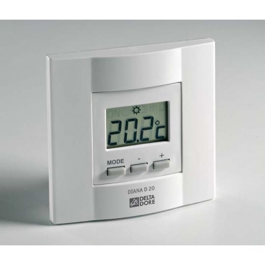 Thermostat Tybox51 DeltaDore - Régulateur de Climatiseur Gainable