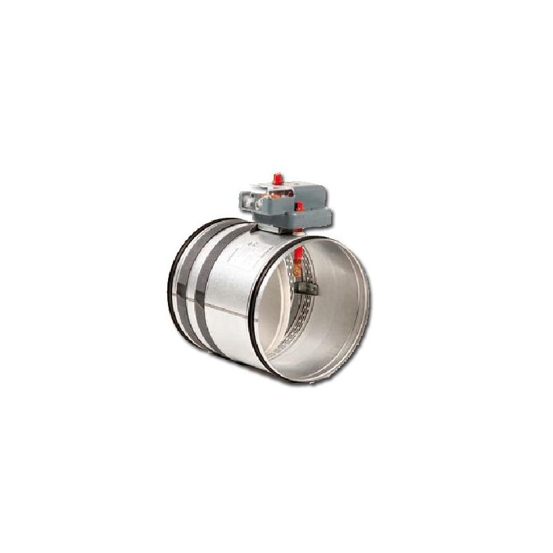 Clapet coupe feu gainable accessoire climatisation gainable - Clapet coupe feu autocommande ...