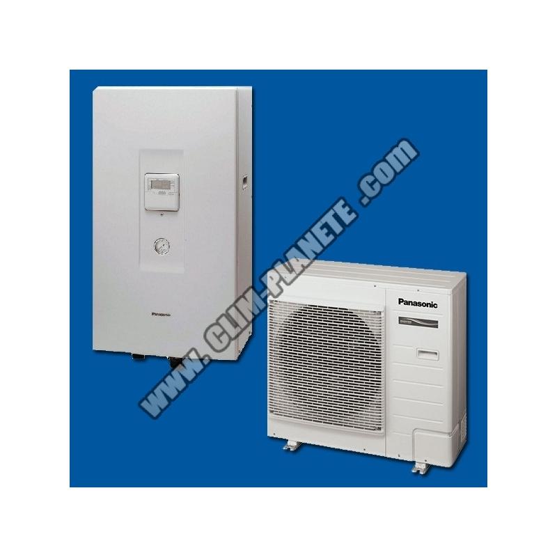 Pompe chaleur air eau kit wc07f3e5 panasonic - Pompe a chaleur reversible air air ...