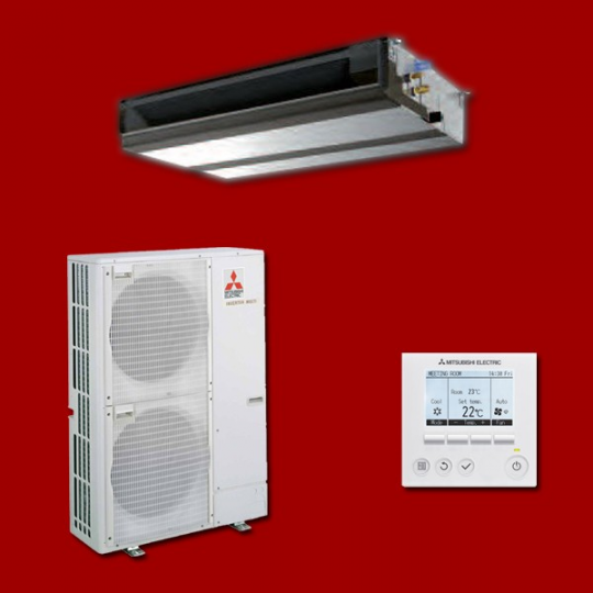 Climatiseur Gainable Inverter PEAD-RP125JAQ / PUHZ-ZRP125YKA MITSUBISHI ELECTRIC