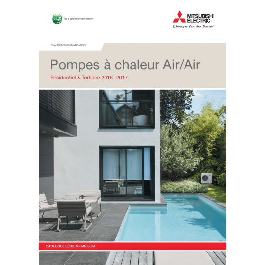 Catalogue Climatisation MITSUBISHI ELECTRIC 2015-2016