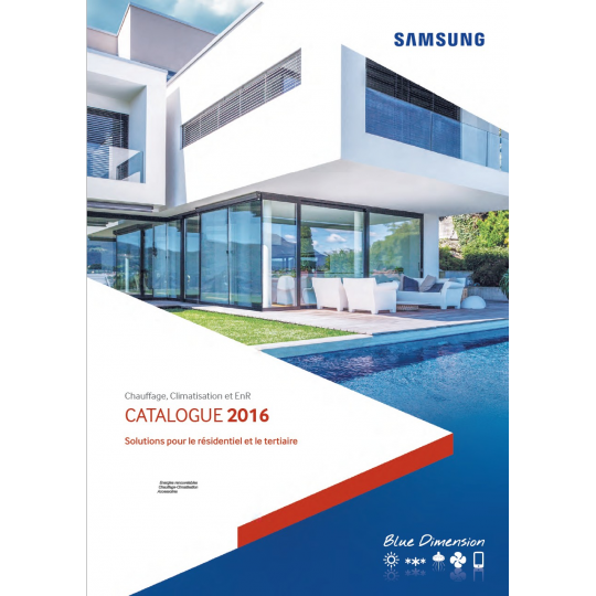 Catalogue Climatisation SAMSUNG 2016-2017