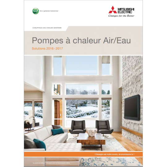 Catalogue PAC MITSUBISHI ELECTRIC 2016-2017