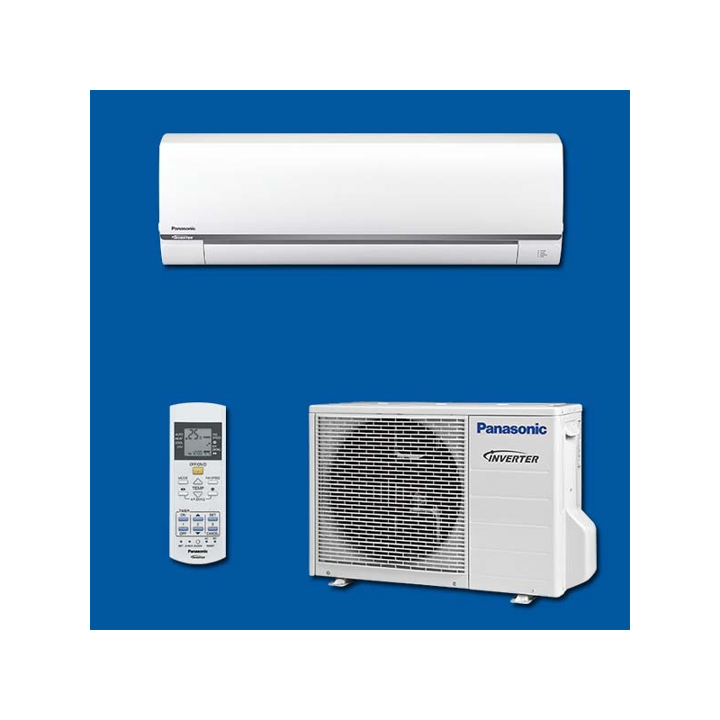 climatiseur r versible inverter kit ue12 rke panasonic. Black Bedroom Furniture Sets. Home Design Ideas