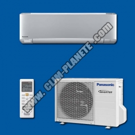 Climatiseur Réversible Inverter KIT CS-XZ25TKEW Etherea Gris PANASONIC