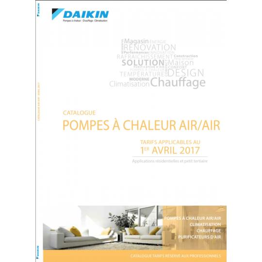 Catalogue Climatisation DAIKIN 2017-2018