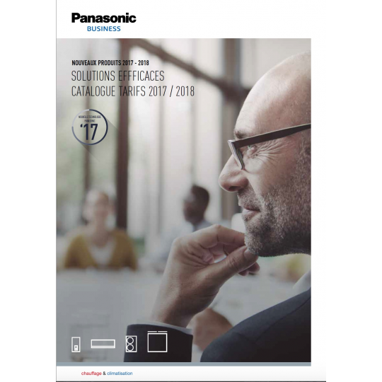 Catalogue Climatisation PANASONIC 2016-2017
