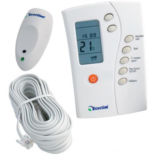 Eco-Clim Thermostat Infrarouge (Installation et Utilisation)