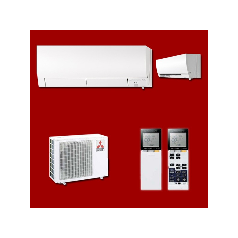 climatiseur inverter r versible mono split msz fh35ve muz fh35vehz mitsubishi electric. Black Bedroom Furniture Sets. Home Design Ideas