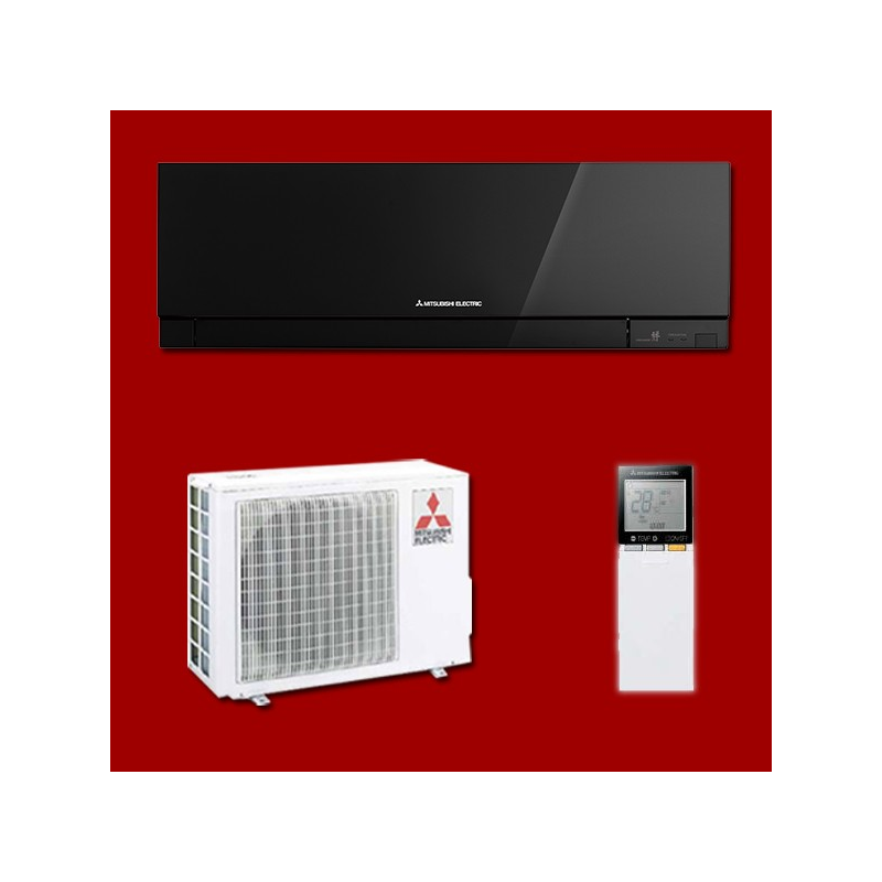 climatiseur mono split inverter r versible msz ef25ve3b muz ef25ve mitsubishi electric. Black Bedroom Furniture Sets. Home Design Ideas