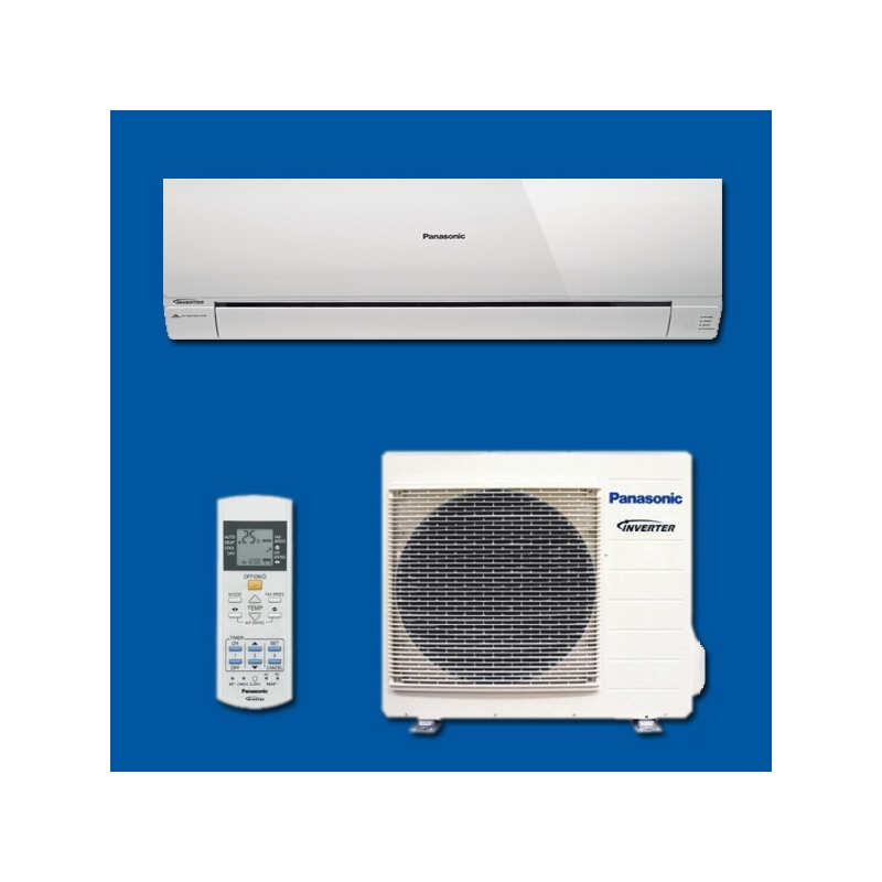 climatisation r versible inverter mono split kit re24rkew panasonic. Black Bedroom Furniture Sets. Home Design Ideas
