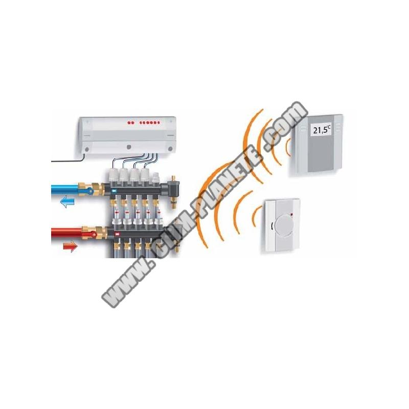 Regulation par circuit accessoire plancher chauffant - Thermostat plancher chauffant electrique ...
