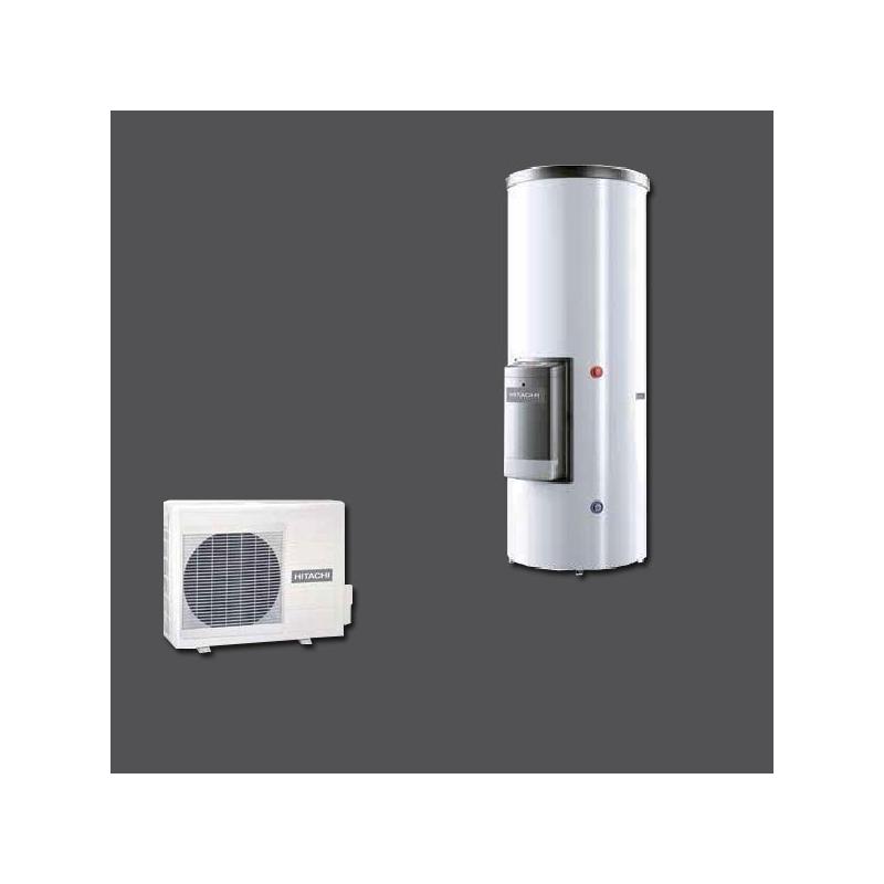 chauffe eau thermodynamique yutampo split hitachi. Black Bedroom Furniture Sets. Home Design Ideas
