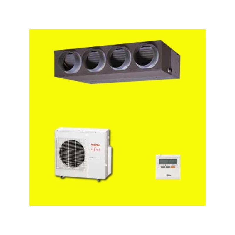 pompe chaleur gainable inverter aryg 24 lmla atlantic fujitsu. Black Bedroom Furniture Sets. Home Design Ideas