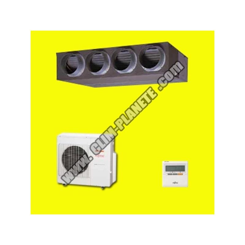 Pompe chaleur gainable inverter aryg 24 lmla atlantic fujitsu - Difference entre pompe a chaleur et climatisation reversible ...