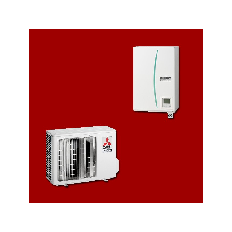 pompe chaleur air eau ehsd vm2c puhz sw45va mitsubishi electric. Black Bedroom Furniture Sets. Home Design Ideas