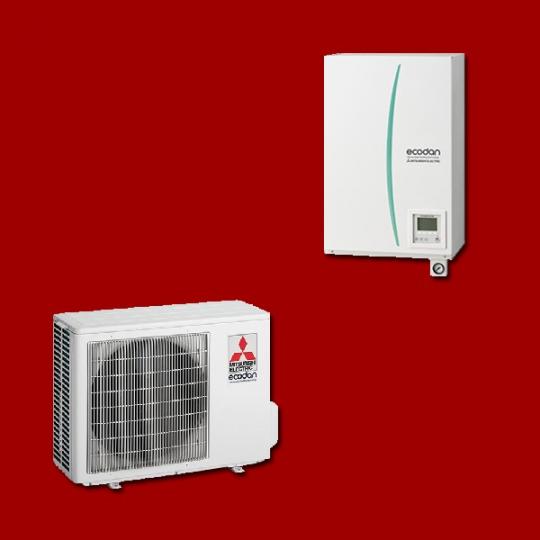 Pompe à Chaleur Air/Eau EHSD-VM2C / PUHZ-SW50VKA MITSUBISHI ELECTRIC