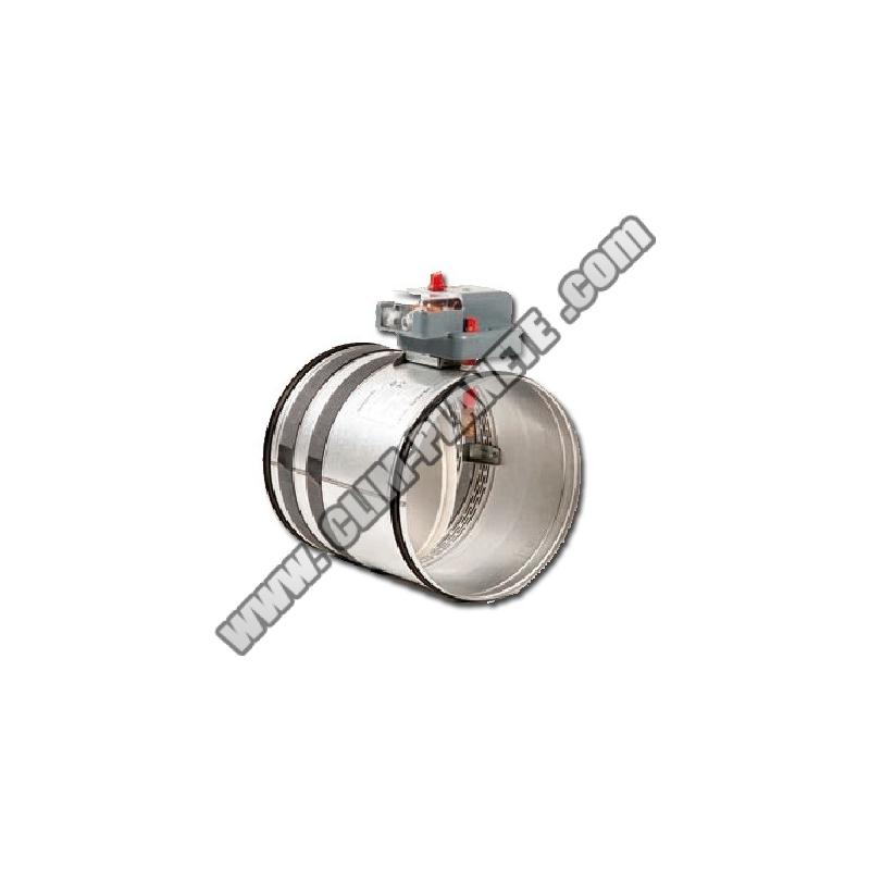 Clapet coupe feu gainable accessoire climatisation gainable - Installation clapet coupe feu ...