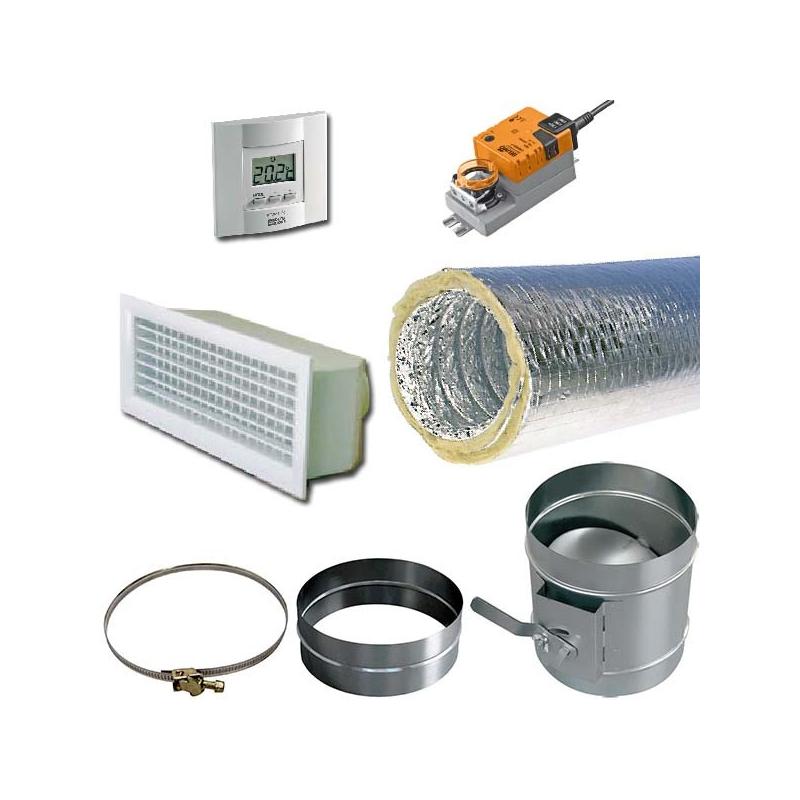 soufflage aeraulique 160 laine de verre motoris 300x150 accessoires pour gainable. Black Bedroom Furniture Sets. Home Design Ideas