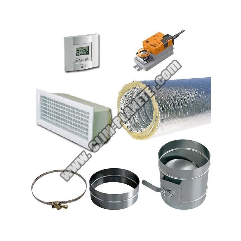 Soufflage aeraulique 160 laine de verre motoris 300x150 for Laine de verre 300 mm isover