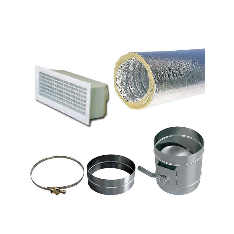 soufflage aeraulique 200 laine de verre manuel 400x150 accessoires pour gainable. Black Bedroom Furniture Sets. Home Design Ideas