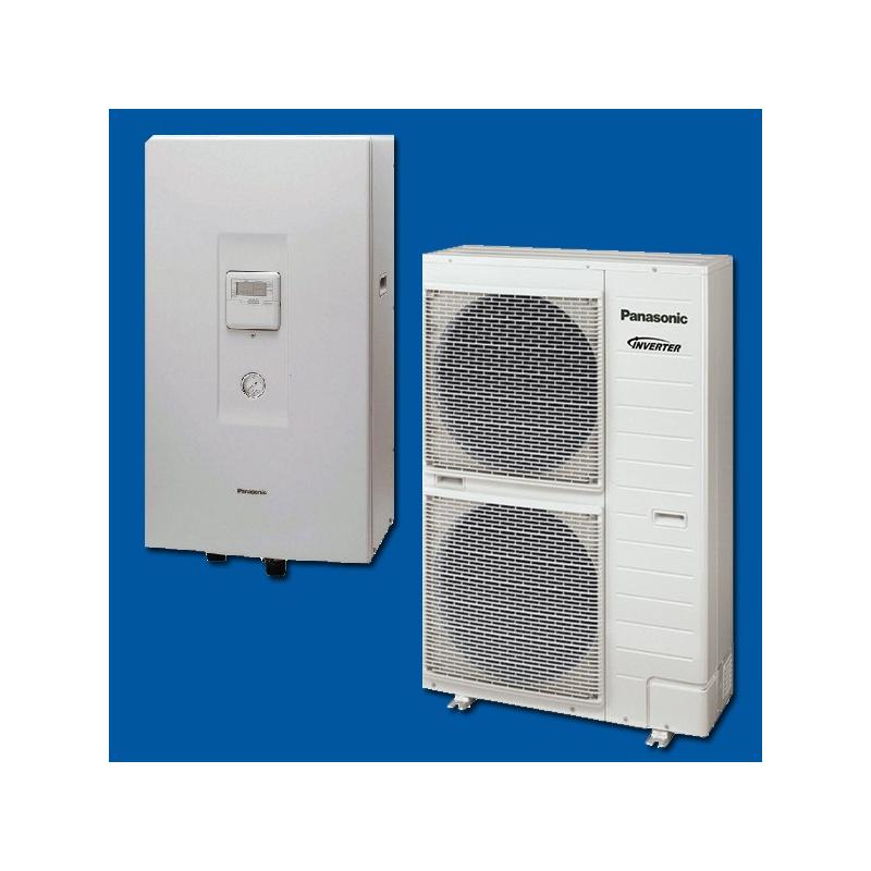 pompe chaleur air eau kit wc12f6e5 panasonic. Black Bedroom Furniture Sets. Home Design Ideas