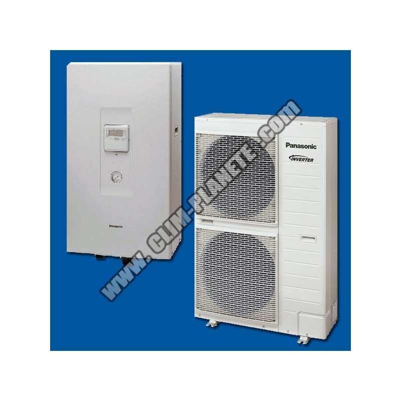 pompe chaleur air eau kit wc09f3e8 panasonic. Black Bedroom Furniture Sets. Home Design Ideas