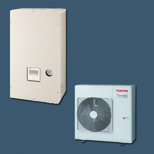Pompe à Chaleur Air/Eau HWS-804H-E / HWS-804XWHT6-E TOSHIBA