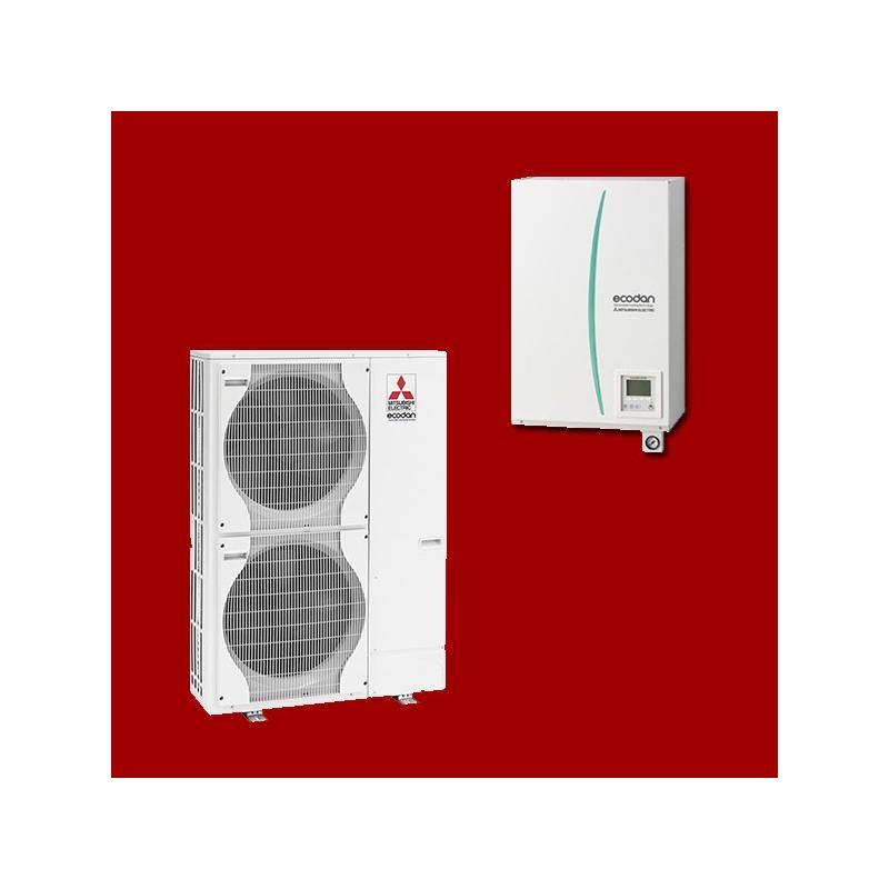 pompe chaleur air eau ehsc ym9c puhz shw140yha mitsubishi electric. Black Bedroom Furniture Sets. Home Design Ideas