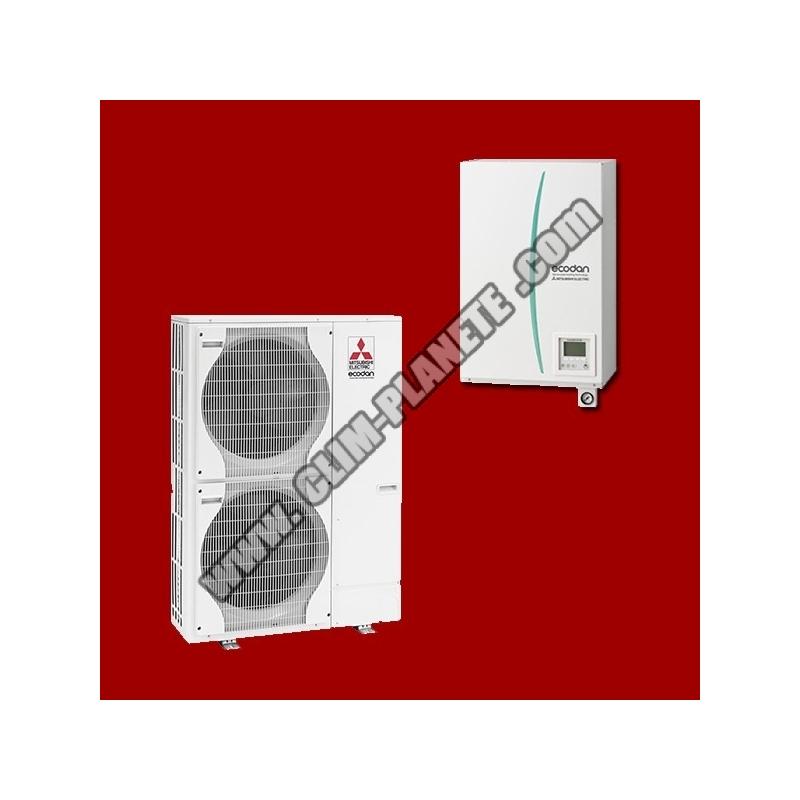 Pompe chaleur air eau ehsc ym9c puhz shw140yha for Pac air eau mitsubishi