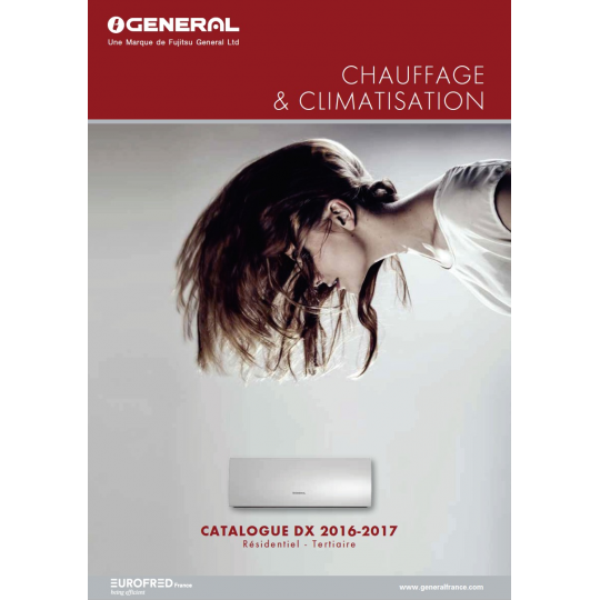 Catalogue Climatisation GENERAL FUJITSU 2016-2017