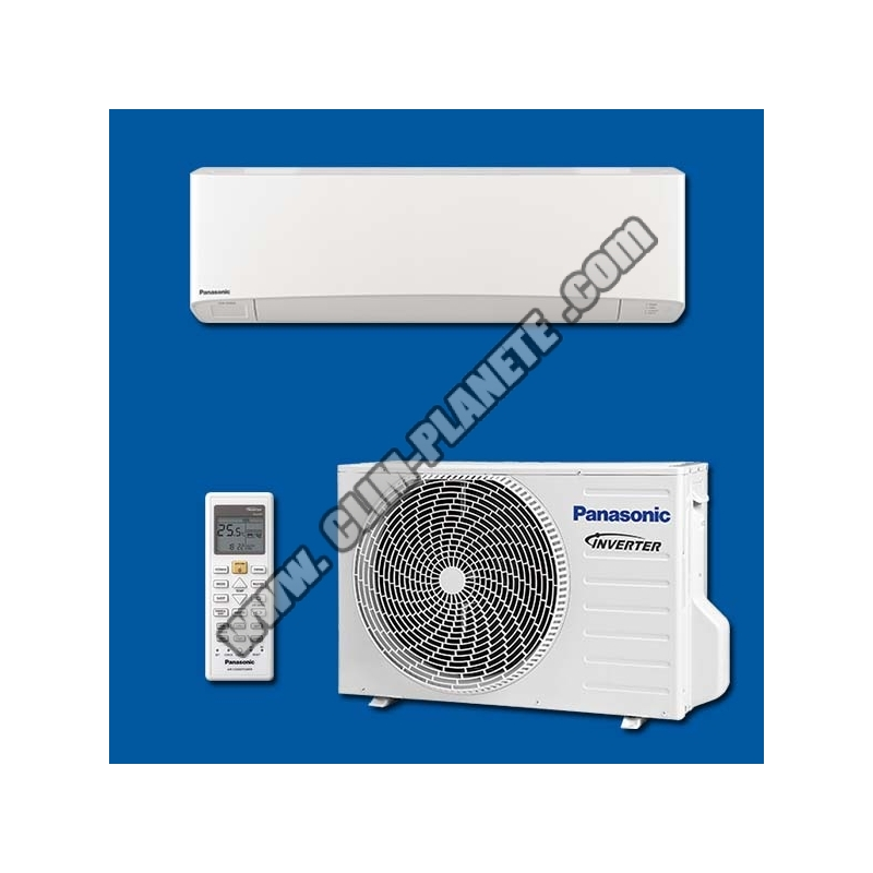 Climatisation mono split r versible inverter kit cs for Climatisation split mural