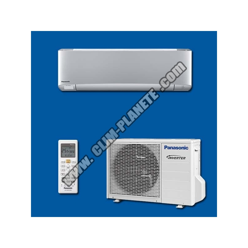 climatiseur r versible inverter mono split kit cs xz20tkew panasonic. Black Bedroom Furniture Sets. Home Design Ideas