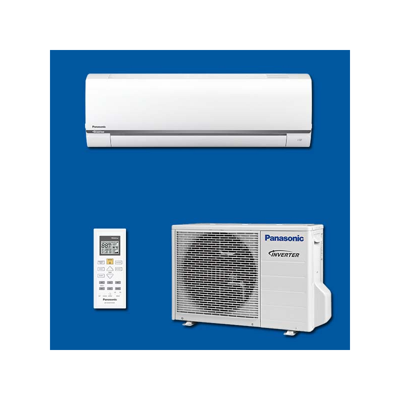 climatiseur inverter r versible mono split kit cs be35tke panasonic. Black Bedroom Furniture Sets. Home Design Ideas