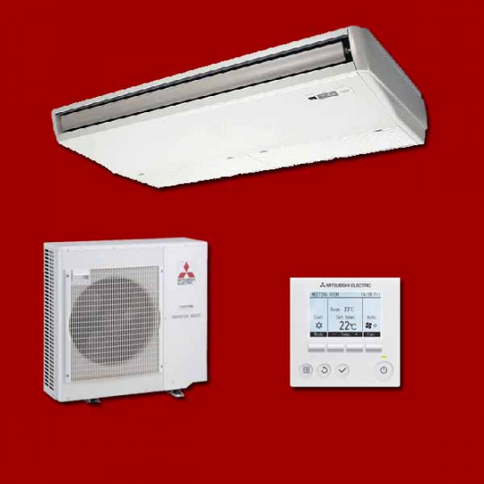 Climatiseur Plafonnier Inverter PCA-RP140KAQ / PUHZ-P140YHA MITSUBISHI ELECTRIC