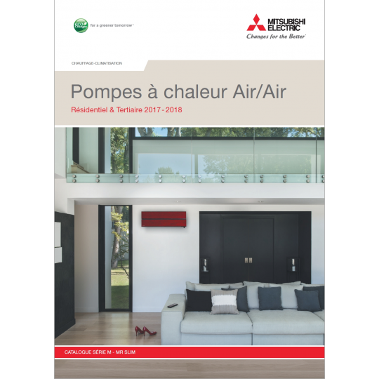 Catalogue Climatisation MITSUBISHI ELECTRIC 2017-2018