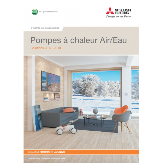 Catalogue PAC MITSUBISHI ELECTRIC 2017-2018