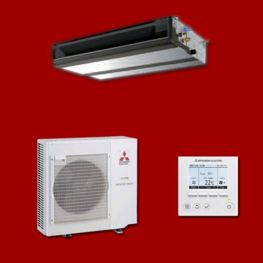 Pompe à Chaleur Gainable Inverter PEAD-M50JA / SUZ-KA50VA6 MITSUBISHI ELECTRIC