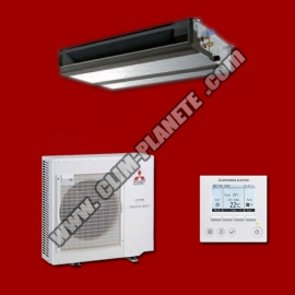 Climatisation Gainable Inverter PEAD-M71JA / PUHZ-ZRP71VHA2 MITSUBISHI ELECTRIC