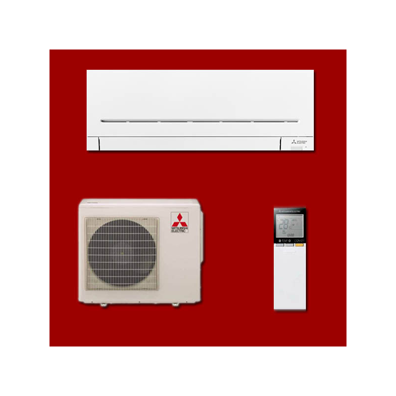 climatisation mono split r versible inverter msz ap50vg. Black Bedroom Furniture Sets. Home Design Ideas