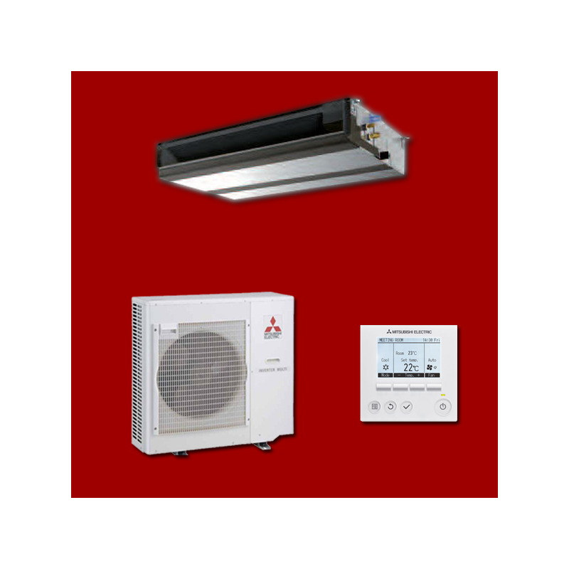 climatisation inverter gainable pead sm140ja puhz. Black Bedroom Furniture Sets. Home Design Ideas