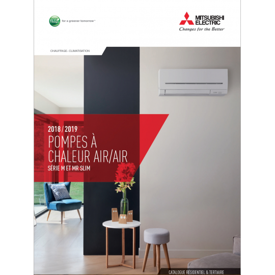 Catalogue Climatisation MITSUBISHI ELECTRIC 2018-2019