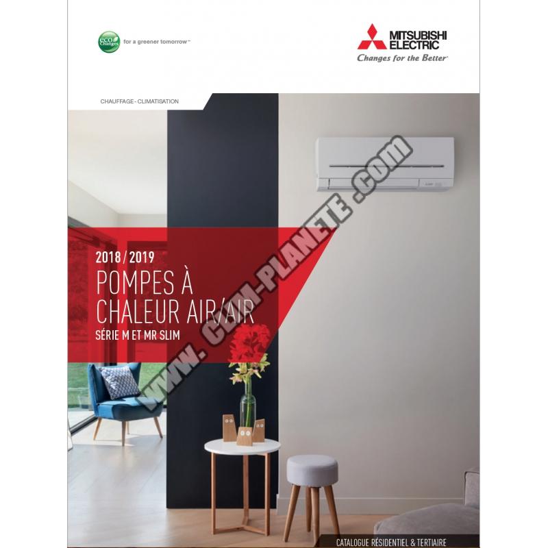 catalogue climatisation mitsubishi electric 2018 2019. Black Bedroom Furniture Sets. Home Design Ideas