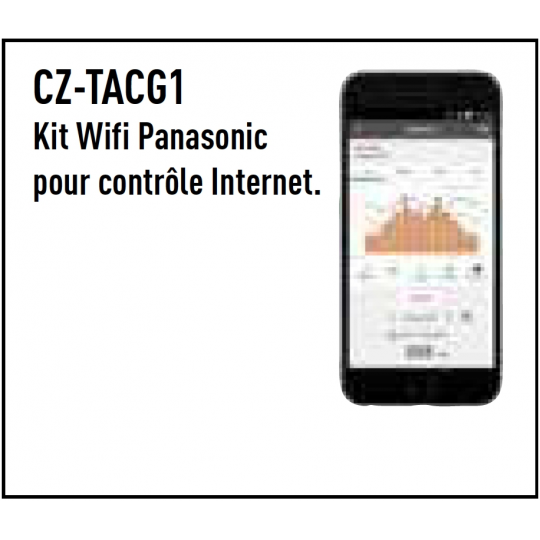 Interface CZ-TACG1 WIFI PANASONIC - Accessoire Climatisation