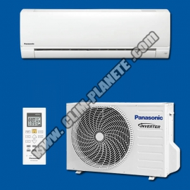 Climatiseur Réversible Inverter Mono Split KIT CS-PZ25VKE PANASONIC